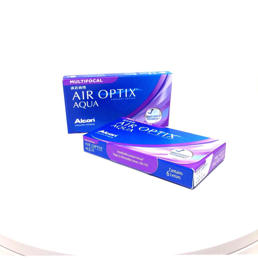 Εικόνα προϊόντος AIR OPTIX PLUS HYDRAGLYDE MULTIFOCAL